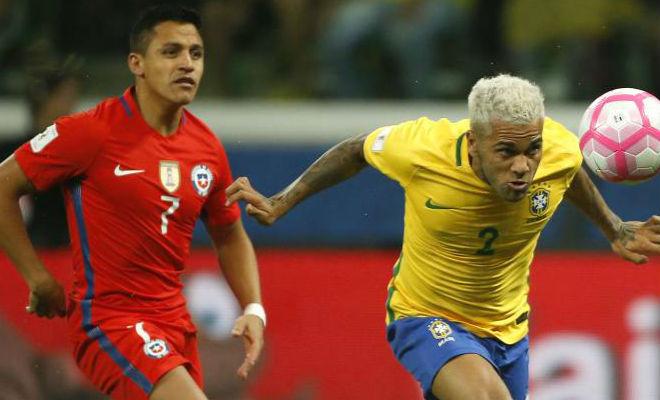 Brazil - Chile: Hiệp 2 bùng nổ, cái kết nghiệt ngã - 1