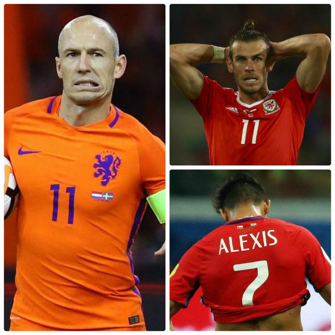 """Vòng loại World Cup: Đỉnh cao Ronaldo-Messi, Bale xuống """"vực thẳm"""" - 2"""