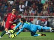 Ronaldo uốn éo không phải lối, bẽ mặt vì thủ môn Thụy Sĩ