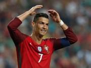 Ronaldo bắt hụt Lewandowski, Bồ Đào Nha mừng vé World Cup