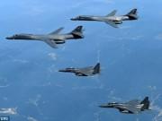 Thế giới - Oanh tạc cơ Mỹ áp sát, phóng tên lửa răn đe Triều Tiên