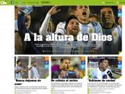 Bóng đá - Báo chí thế giới: Messi làm lu mờ Maradona, bóng đá nợ Messi một cúp Vàng