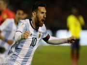 Bóng đá - Messi cứu Argentina: World Cup còn vương nợ, Ronaldo lo mất Bóng vàng