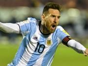 Bóng đá - Siêu phẩm vòng loại World cup Nam Mỹ: Messi đá phạt siêu đẳng, vẫn thua kẻ vô danh
