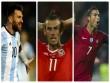 """Vòng loại World Cup: Đỉnh cao Ronaldo-Messi, Bale xuống """"vực thẳm"""""""