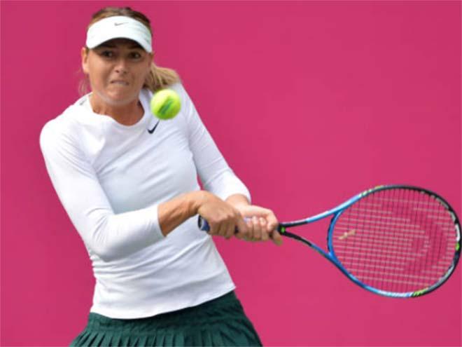 Sharapova - Linette: 99 phút lãng phí 10 cơ hội (Vòng 2 Thiên Tân) - 1