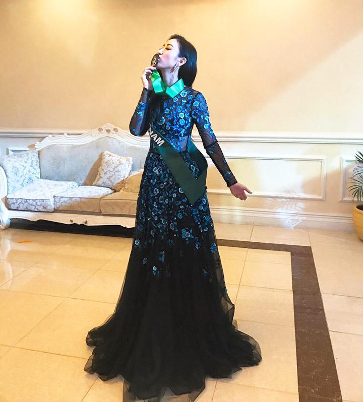 Đại diện Việt đoạt giải đồng thi tài năng Hoa hậu Trái Đất - 1