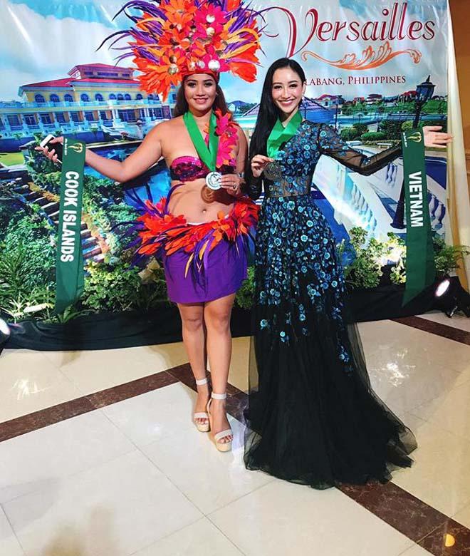 Đại diện Việt đoạt giải đồng thi tài năng Hoa hậu Trái Đất - 2