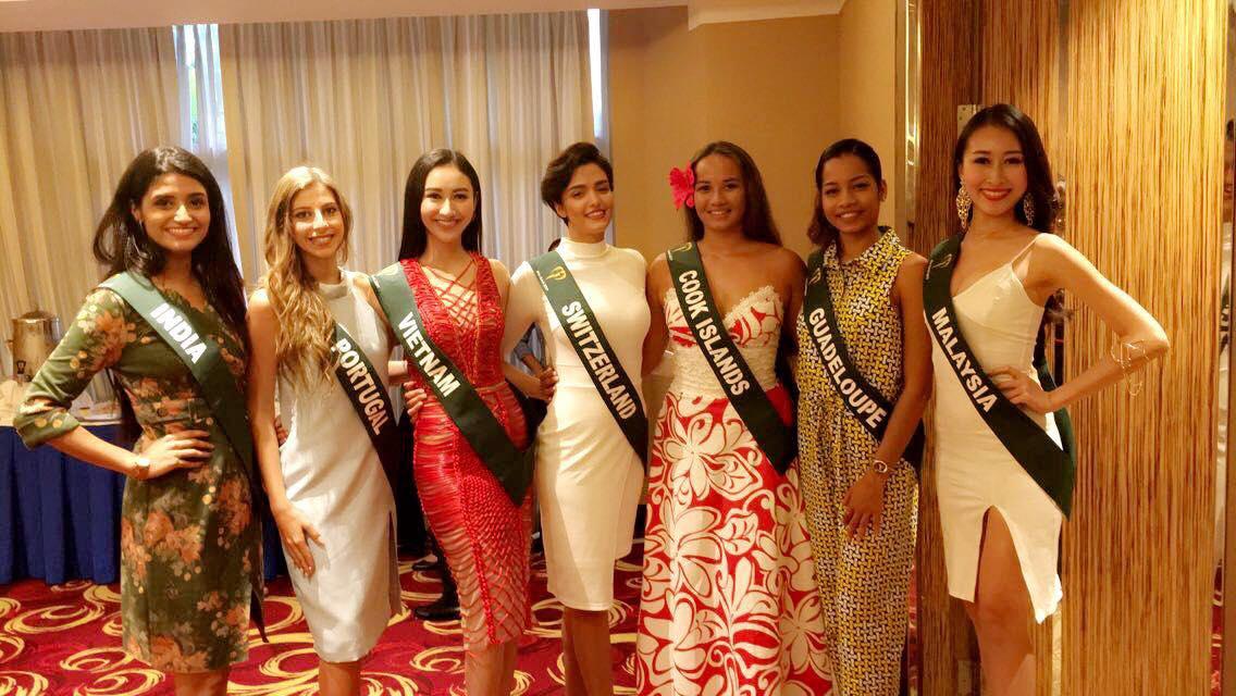Đại diện Việt đoạt giải đồng thi tài năng Hoa hậu Trái Đất - 10