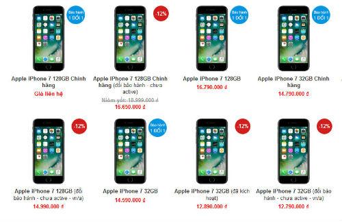 iPhone 7, iPhone 8 tiếp tục giảm cả triệu đồng - 2