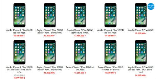 iPhone 7, iPhone 8 tiếp tục giảm cả triệu đồng - 3