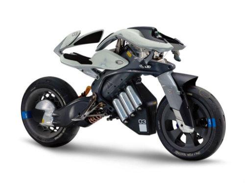 NÓNG: Rò rỉ mẫu môtô người máy Yamaha mới nhất - 1