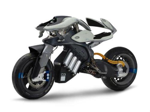 NÓNG: Rò rỉ mẫu môtô người máy Yamaha mới nhất - 2