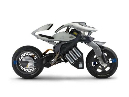 NÓNG: Rò rỉ mẫu môtô người máy Yamaha mới nhất - 4