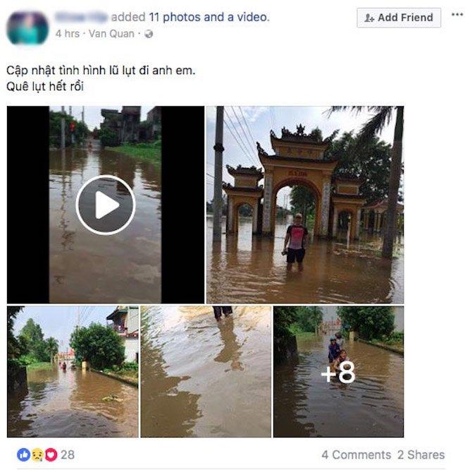 """Dân mạng chia sẻ """"rần rần"""" ảnh mưa lũ kinh hoàng làm hàng chục người chết - 7"""