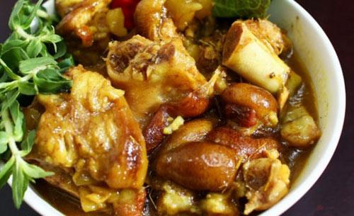 Cách làm thịt chân giò nấu giả cầy ngon bất bại cho bữa tối ngày lạnh - 3