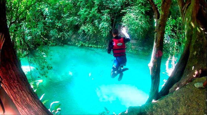 Dạo chơi thác nước đẹp như tiên cảnh ở Philippines - 8