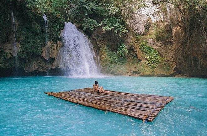 Dạo chơi thác nước đẹp như tiên cảnh ở Philippines - 6