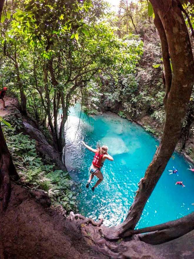 Dạo chơi thác nước đẹp như tiên cảnh ở Philippines - 9
