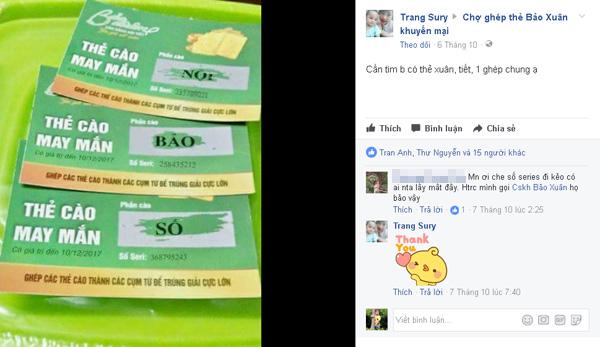 Ghép chữ trúng vàng: Trào lưu đang hot trên mạng xã hội - 1