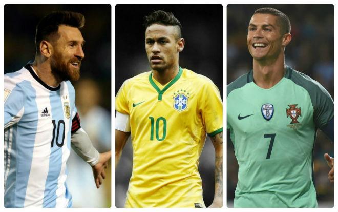 Neymar thách thức Messi-Ronaldo, hẹn tranh QBV ở World Cup - 1