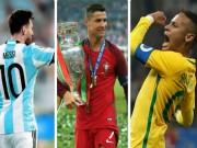 Bóng đá - Choáng ngợp dàn SAO 1 tỷ euro dự World Cup: Ronaldo cặp Messi & Neymar