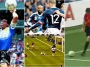 """Bóng đá - """"Vết nhơ"""" World Cup, nghi án Falcao dàn xếp: """"Bàn tay ma"""" Henry & rạch mặt ăn vạ"""