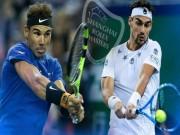 """Thể thao - Nadal - Fognini: Tung đòn sấm sét diệt """"khắc tinh"""" (Vòng 3 Thượng Hải Master)"""