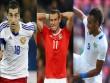 """Siêu đội hình nửa tỷ euro lỗi hẹn World Cup: Bale """"bắt cặp"""" SAO MU"""
