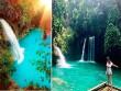 Dạo chơi thác nước đẹp như tiên cảnh ở Philippines