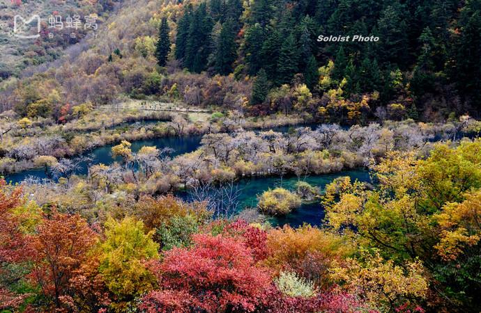 Đã từng có một Cửu Trại Câu đẹp tựa xứ thần tiên trước khi bị động đất tàn phá - 9