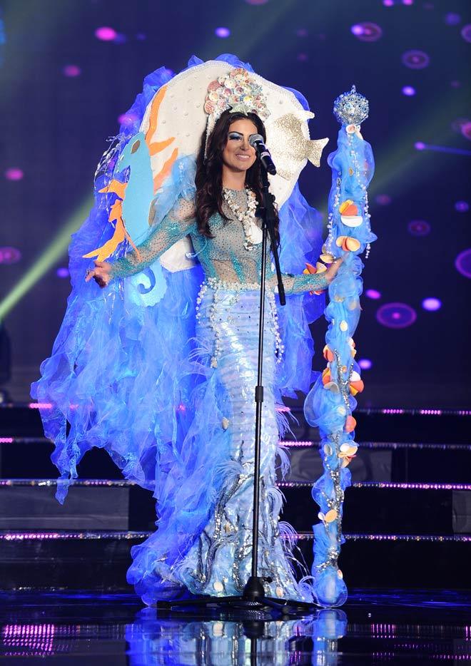 Quốc phục như bikini áp đảo hoàn toàn tại Hoa hậu Hòa bình - 10