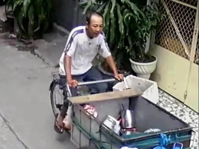 Người nhặt ve chai đâm chết đồng nghiệp trong cuộc nhậu vỉa hè