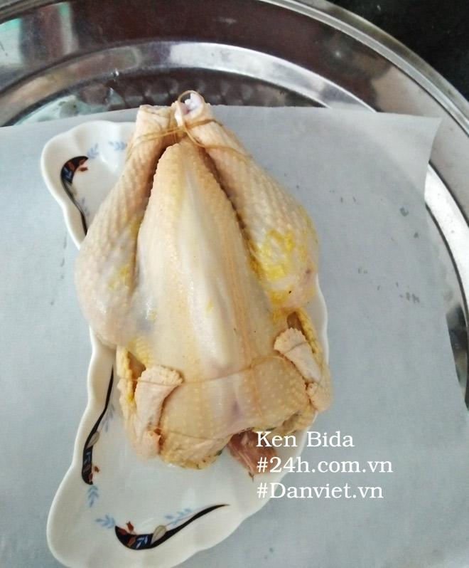 Cách làm gà không lối thoát phiên bản bột mì muối hột cực lạ, cực ngon - 2