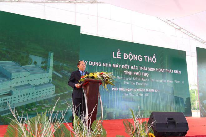 Khởi công xây dựng nhà máy đốt rác thải sinh hoạt, phát điện tại Phú Thọ - 3