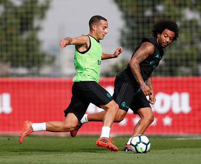 """Real: Benzema trở lại phục vụ, Ronaldo """"tập bắn"""" điên cuồng - 8"""