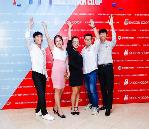 """Dàn thí sinh đa dạng trong """"1 tỷ khởi nghiệp cùng Saigon Co.op"""" - 1"""