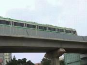 Bất ngờ thấy đoàn tàu Cát Linh-Hà Đông lăn bánh trên đường trên cao