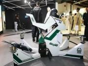 """Môtô cảnh sát bay của Dubai khiến tội phạm """"khóc thét"""""""