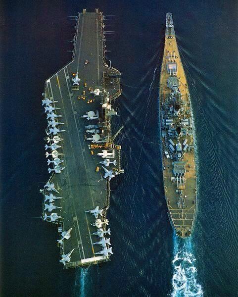 """4 siêu chiến hạm Mỹ từng khiến Triều Tiên gặp """"ác mộng"""" - 2"""