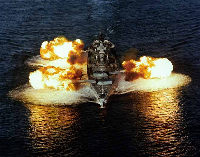 """4 siêu chiến hạm Mỹ từng khiến Triều Tiên gặp """"ác mộng"""" - 1"""