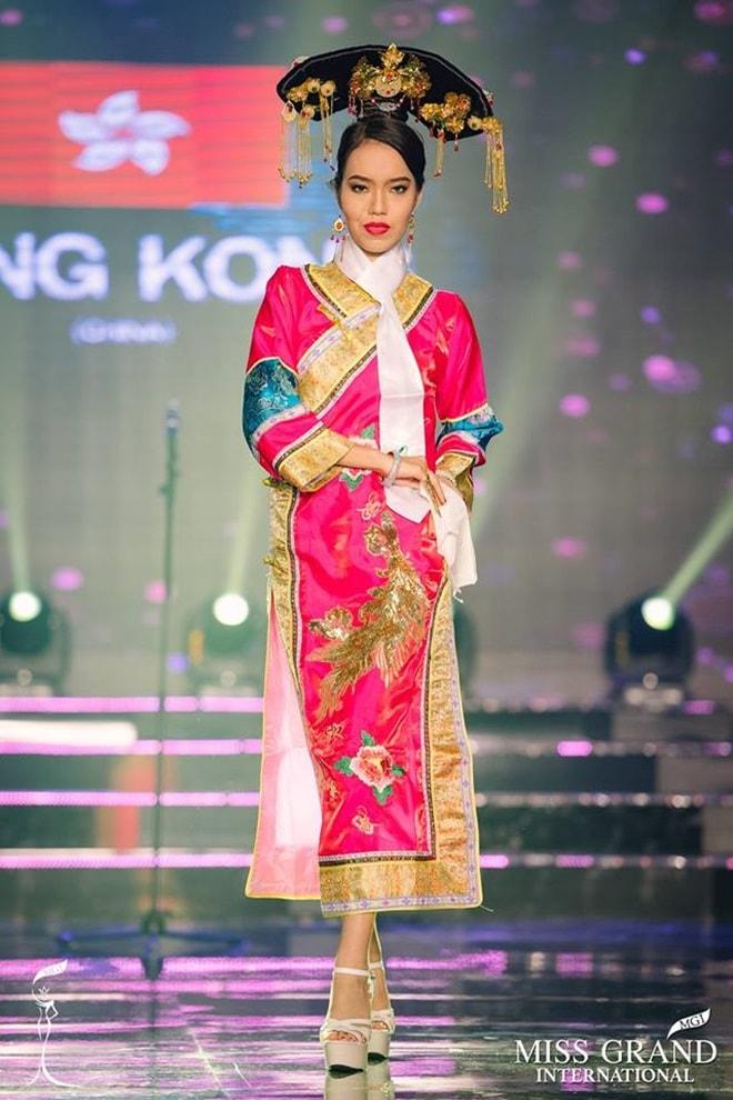 Nhan sắc Hong Kong bị chê thậm tệ tại Hoa hậu Hòa Bình 2017 là ai? - 1