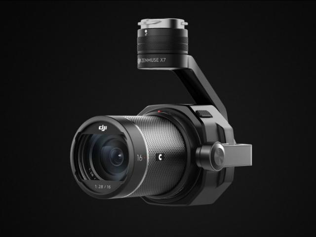 DJI công bố camera trên không Zenmuse X7 Super 35 mới