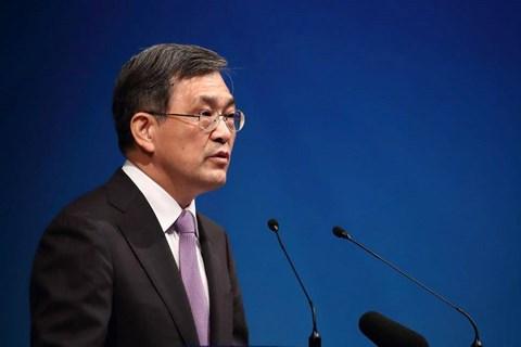 CEO Samsung Electronics tuyên bố từ chức - 1