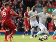 """Liverpool - MU: Dội bão tố lên  """" Quỷ Đỏ """"  (Vòng 8 Ngoại hạng Anh)"""