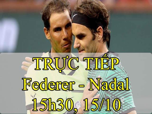 Clip hot tennis: Choáng ngợp Federer 4 lần vung vợt, hạ Nadal 50 giây - 1