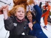 Video: 8 trẻ em trải nghiệm môi trường không trọng lực bằng Airbus A310