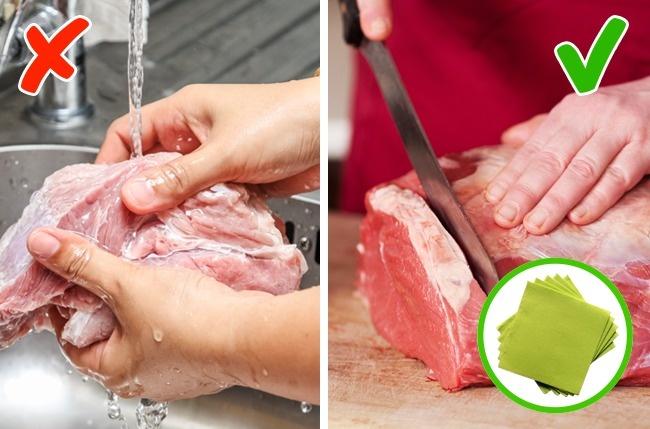 5 thực phẩm tuyệt đối không được rửa với nước mà bạn không ngờ tới - 3