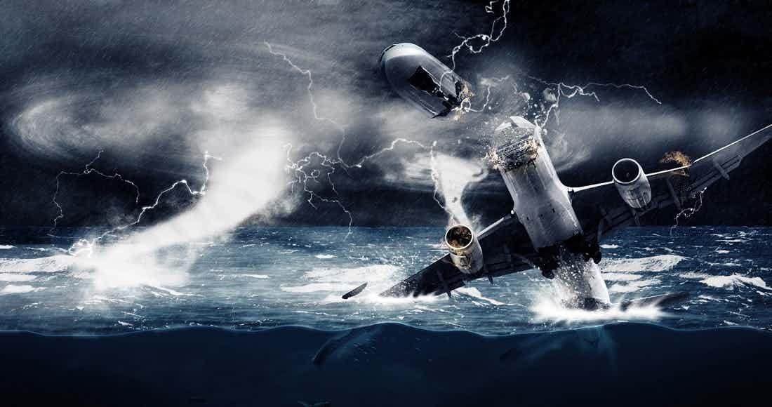 Kỳ lạ đám mây khổng lồ và 75 máy bay mất tích bí ẩn ở Tam giác quỷ Bermuda - 3