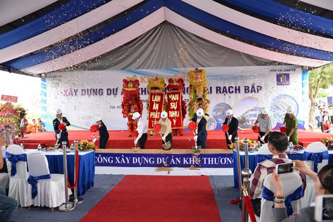 Phạm Anh Khoa, Hoàng Yến Chibi khuấy động lễ khởi công Khu thương mại Rạch Bắp – An Điền - 3